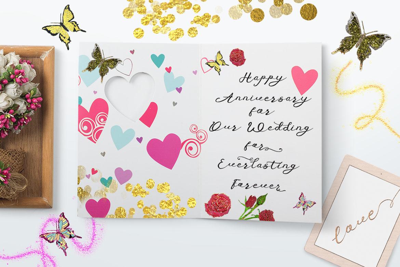 Anniversa Wedding Font example image 4