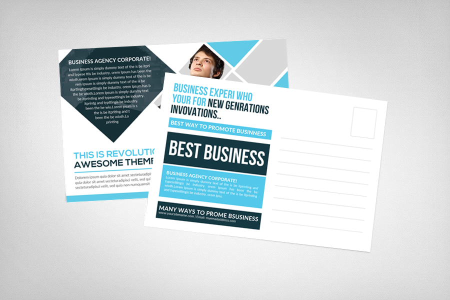 Business Responsive Postcard example image 2