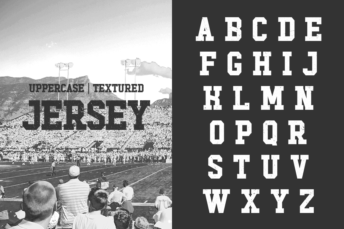 Touchdown Slab Font example image 4