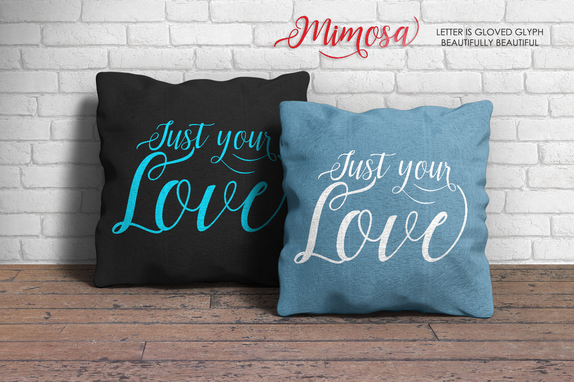 Mimosa Script example image 6