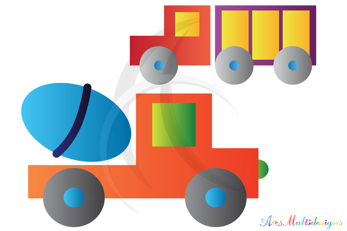 Transportation graphic and illustration / Transportation svg / transportation clip art SVG / vector/ hand drawn doodle / Eps / vehicle clipart example image 2