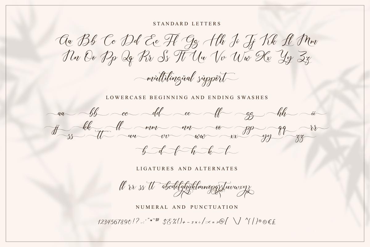 Aisyah | Lovely Script example image 11
