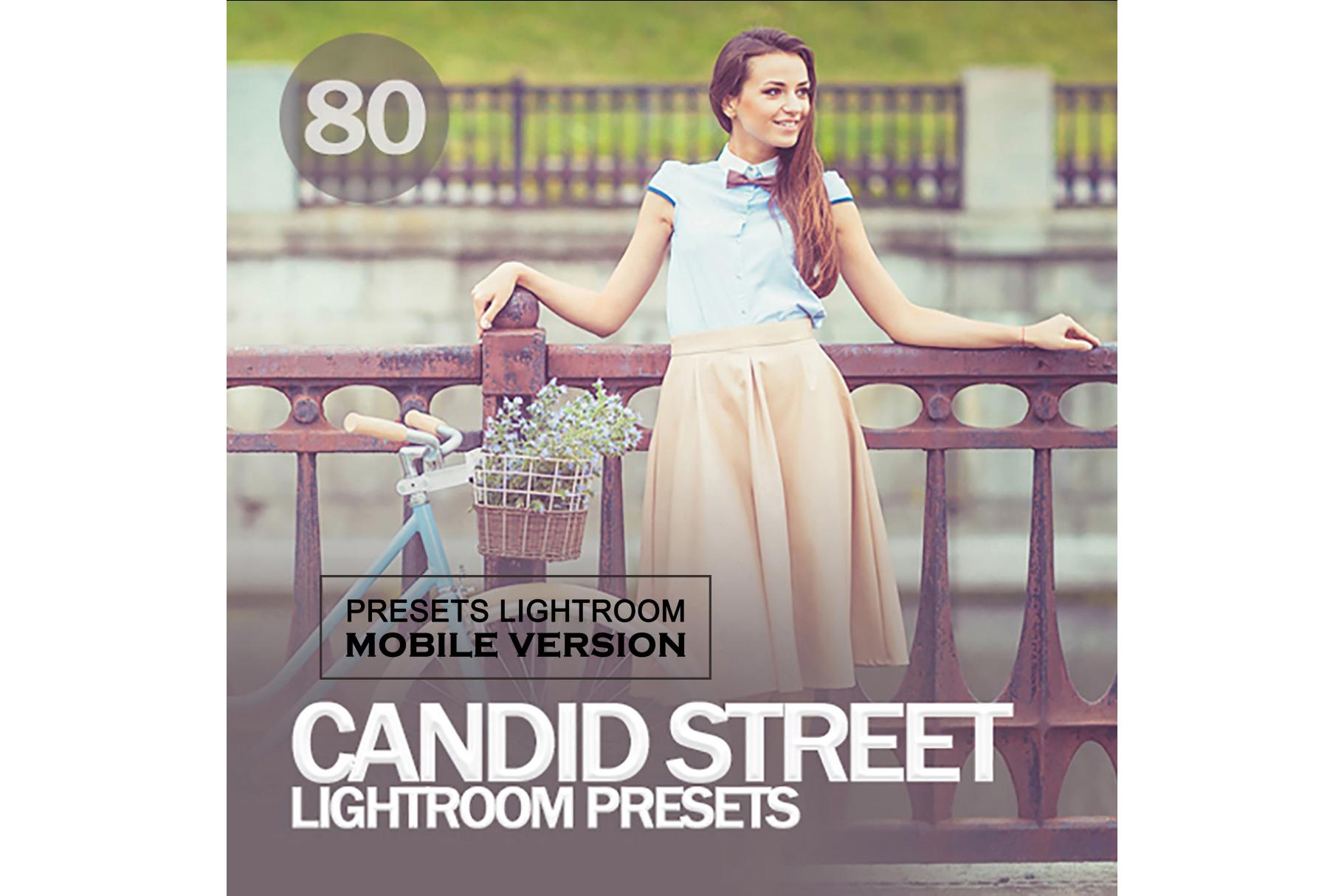 Candid Street Lightroom Mobile Presets example image 1