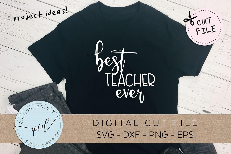 Teacher Bundle, Teacher cutting files, SVG DXF PNG EPS example image 2