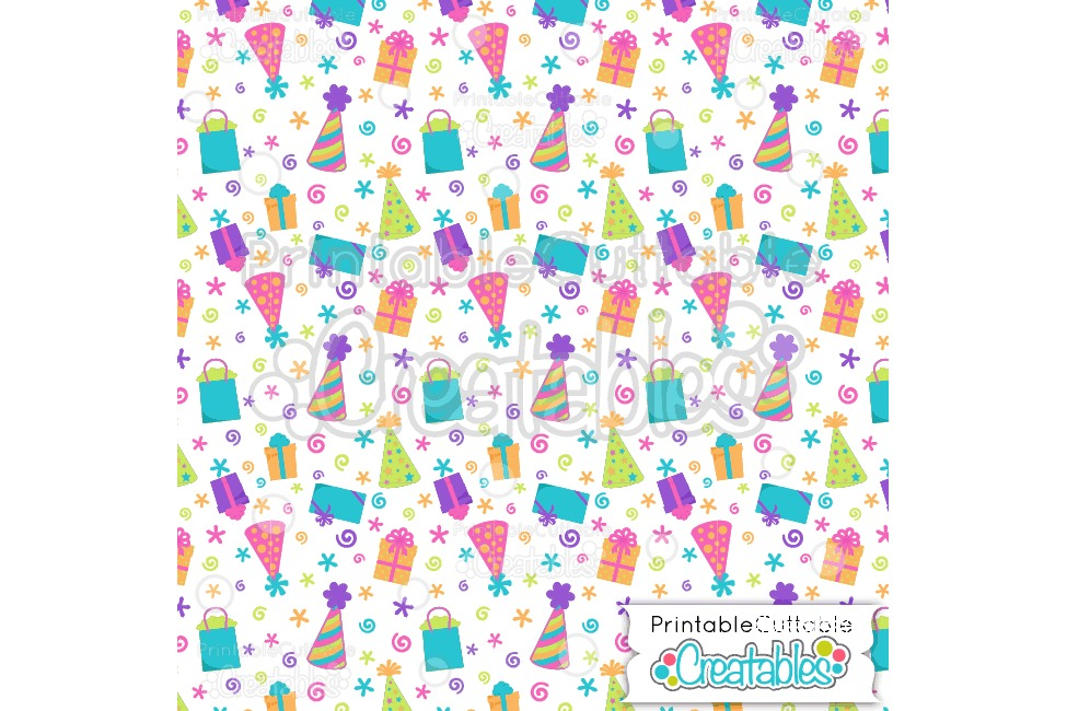 photo regarding Printable Pattern Paper referred to as Satisfied Birthday SVG S Package - Lower Documents Electronic Paper