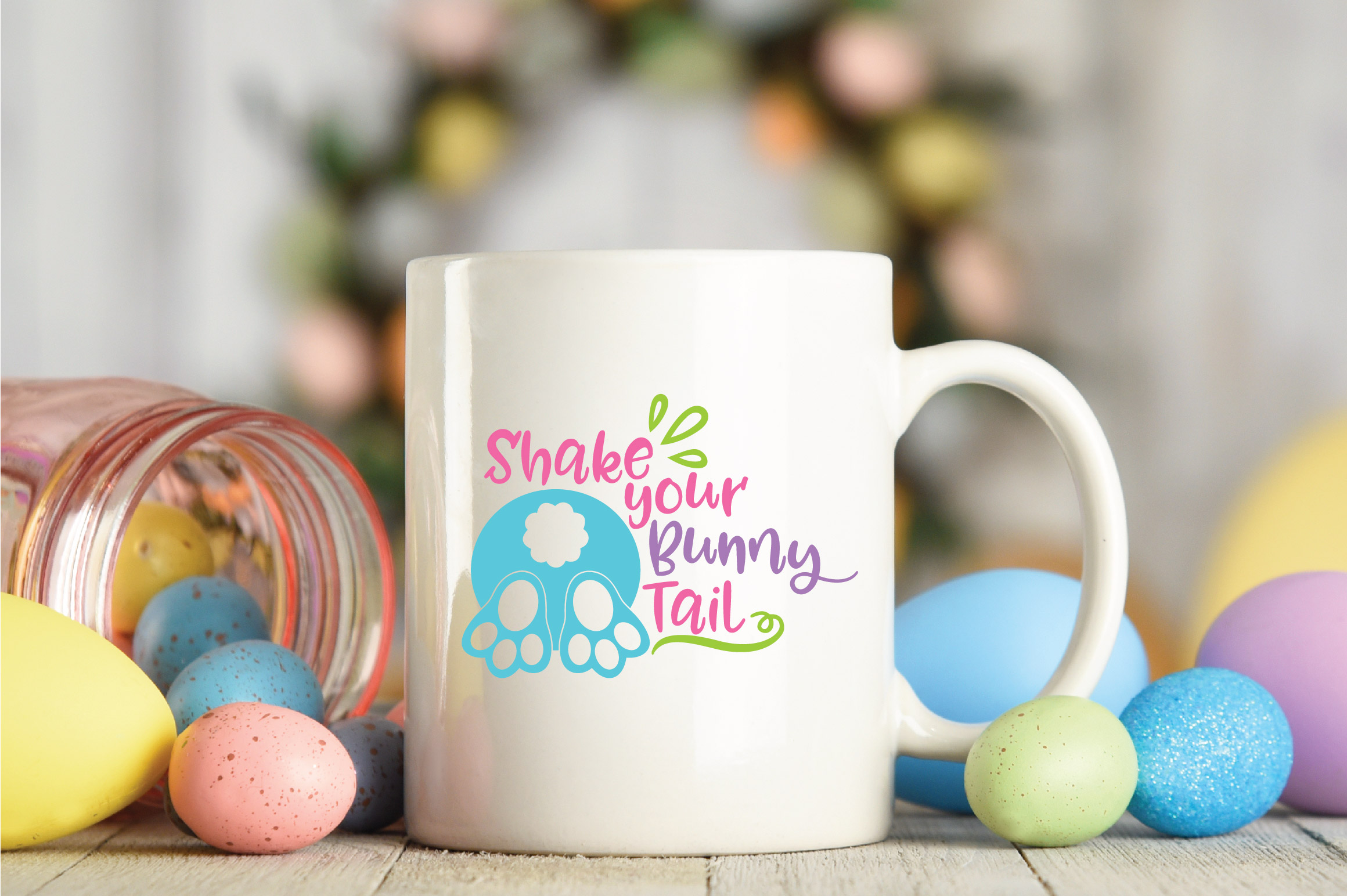 Easter SVG Bundle with 25 SVG Cut Files DXF EPS PNG AI JPG example image 7