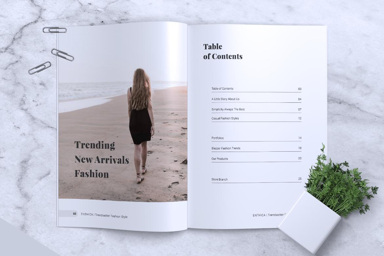 ENTHICA Fashion Magazines example image 2