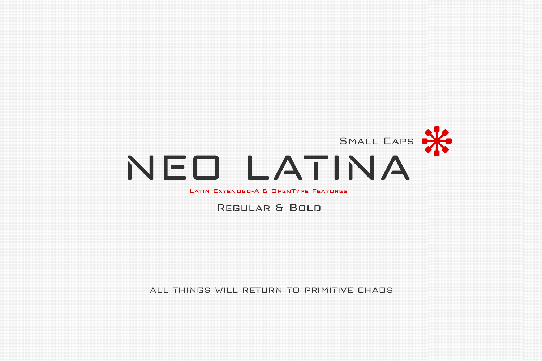 Neo Latina example image 6