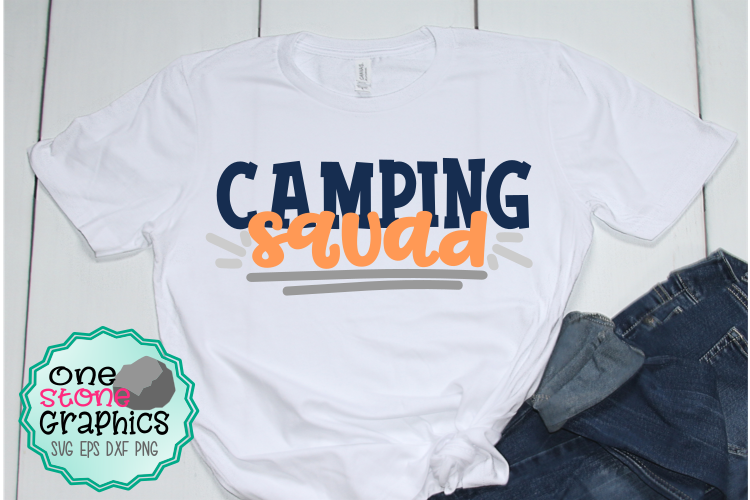 camping squad svg,camping svg,camping cut files,camping example image 1