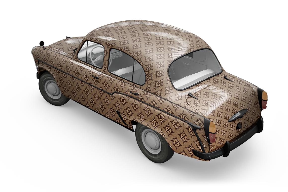 Vintage Car Mockup example image 17