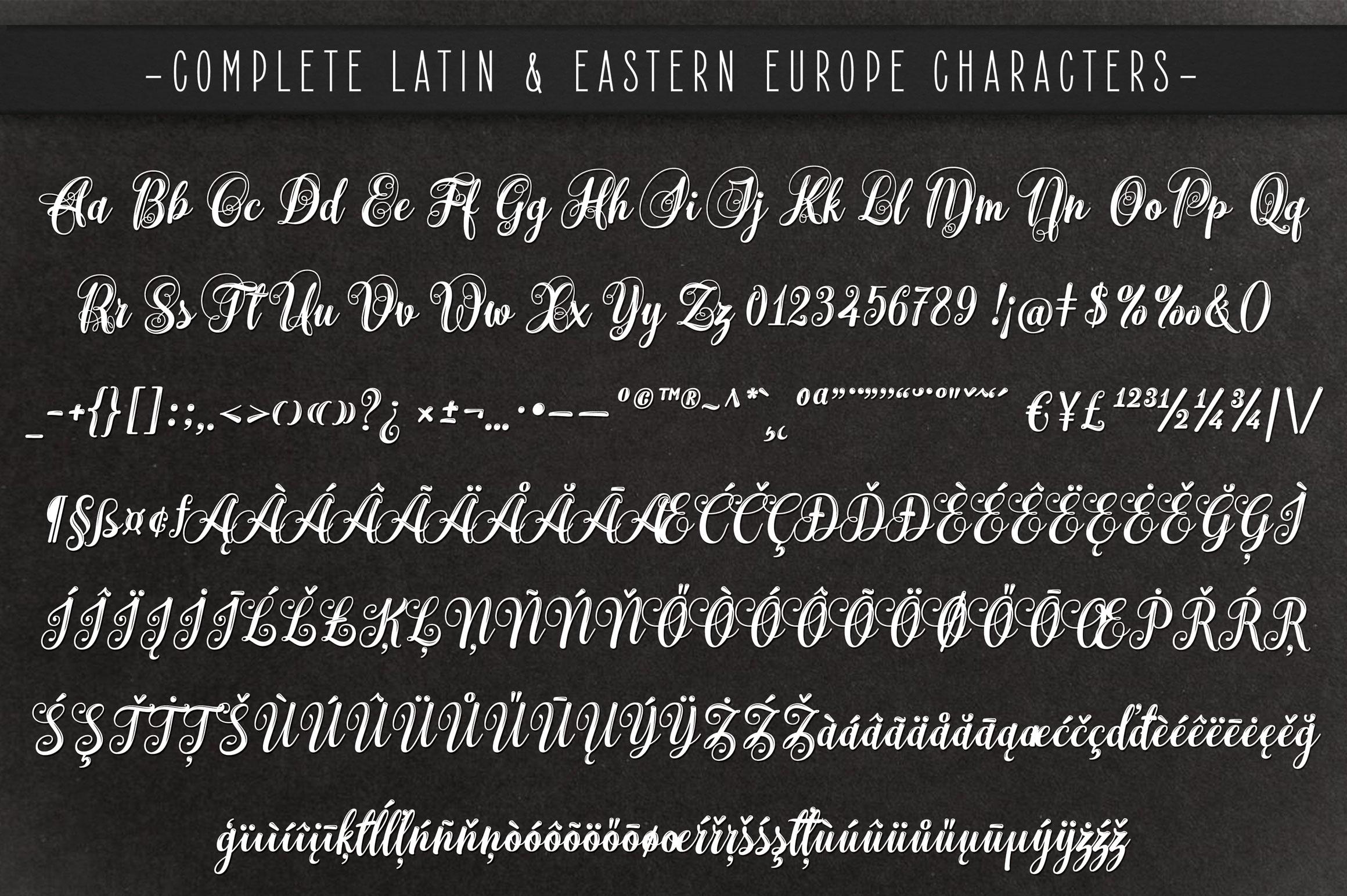 Monogram Script | Full Alphabet Single & Couple Monograms example image 11
