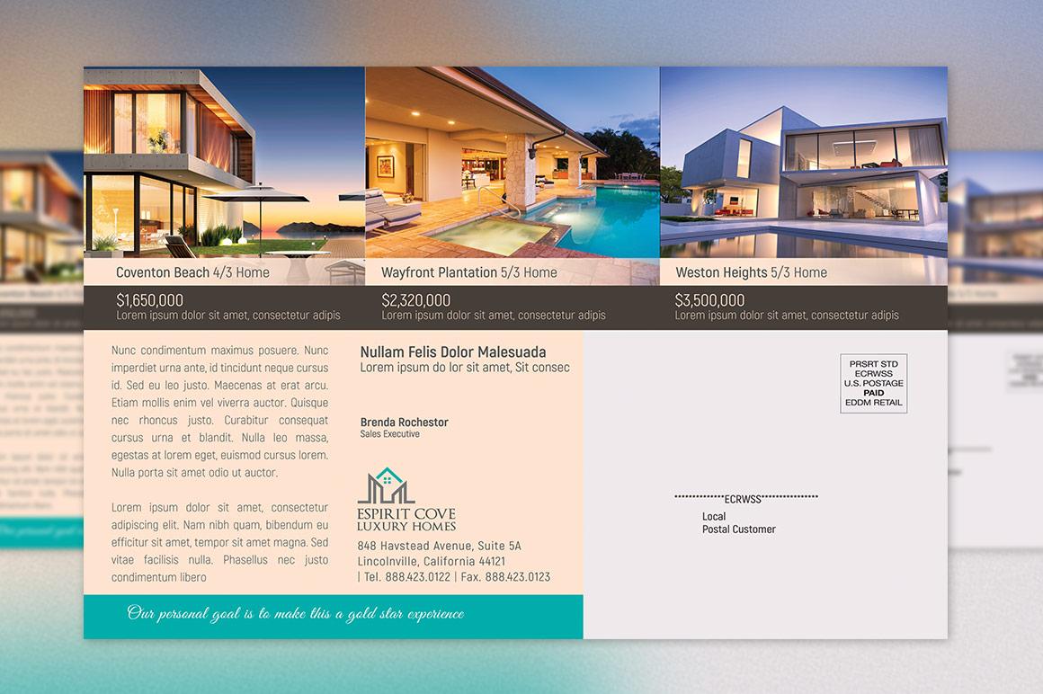 Real Estate EDDM Postcard Template example image 6
