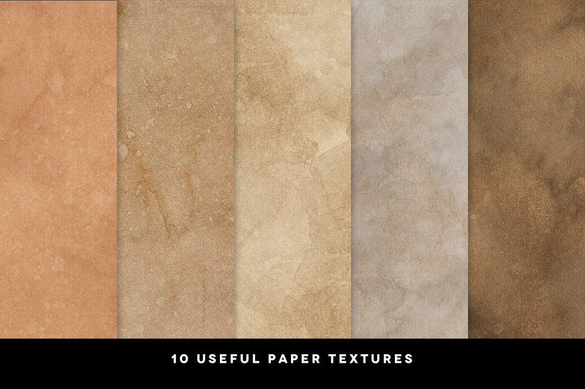 10 Coffee Paper Textures example image 2