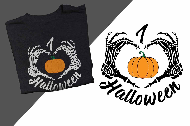 I love Halloween Printable example image 1