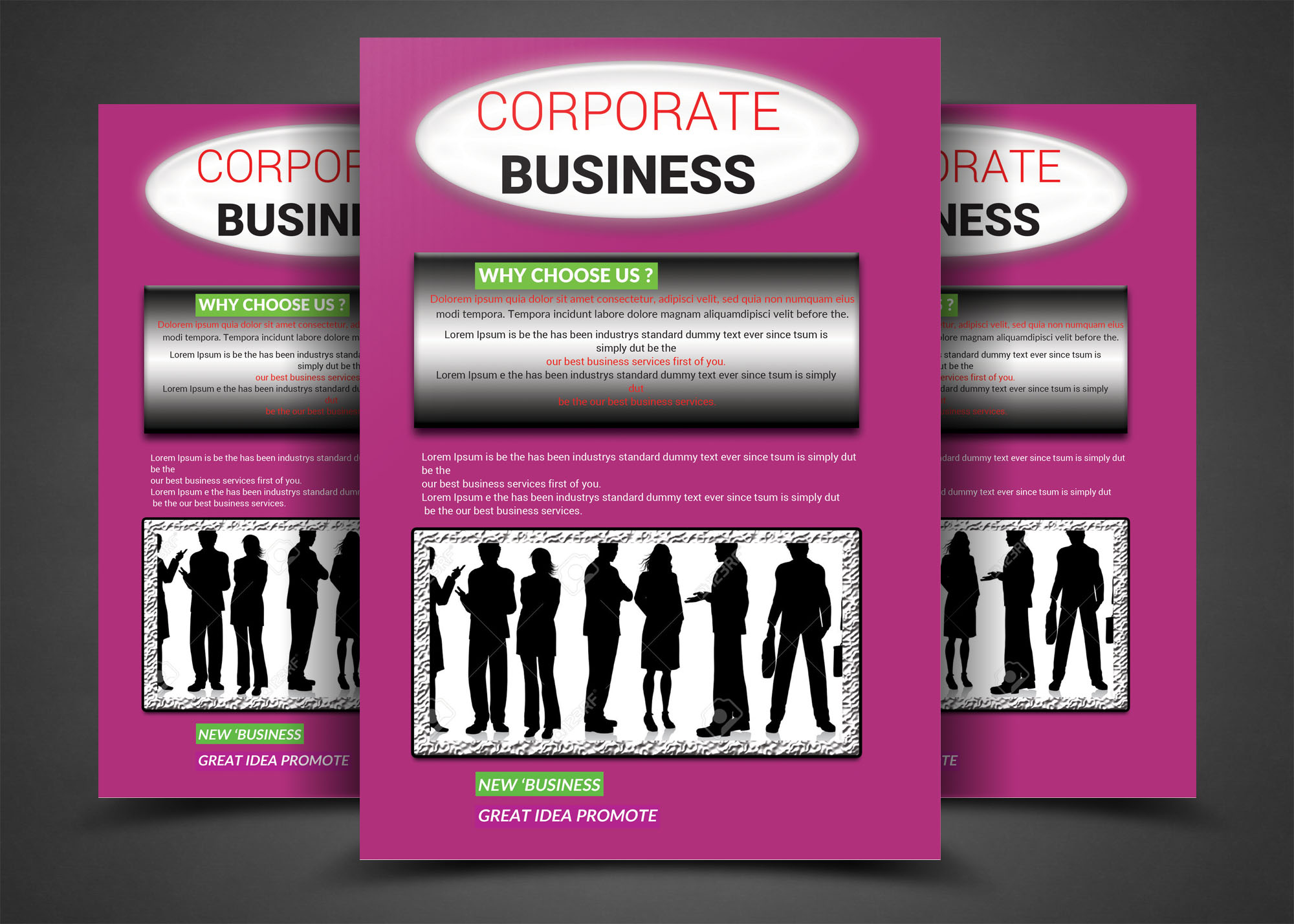 BUSINESS CORPORATE example image 1