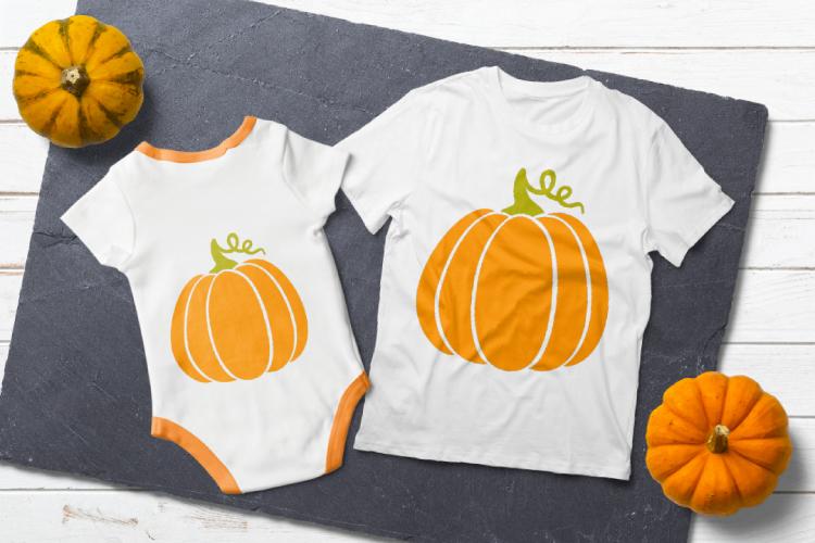 Pumpkins svg. Thanksgiving digital clipart example image 4