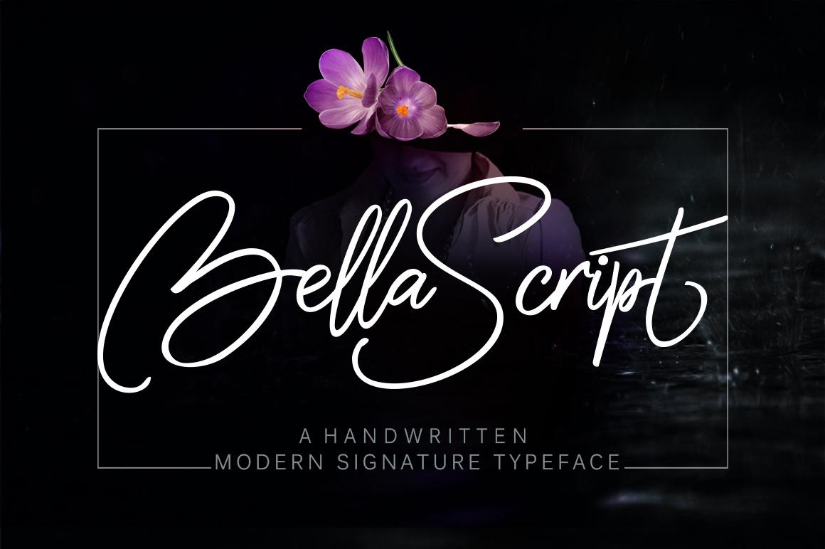 Bella script + swash example image 1