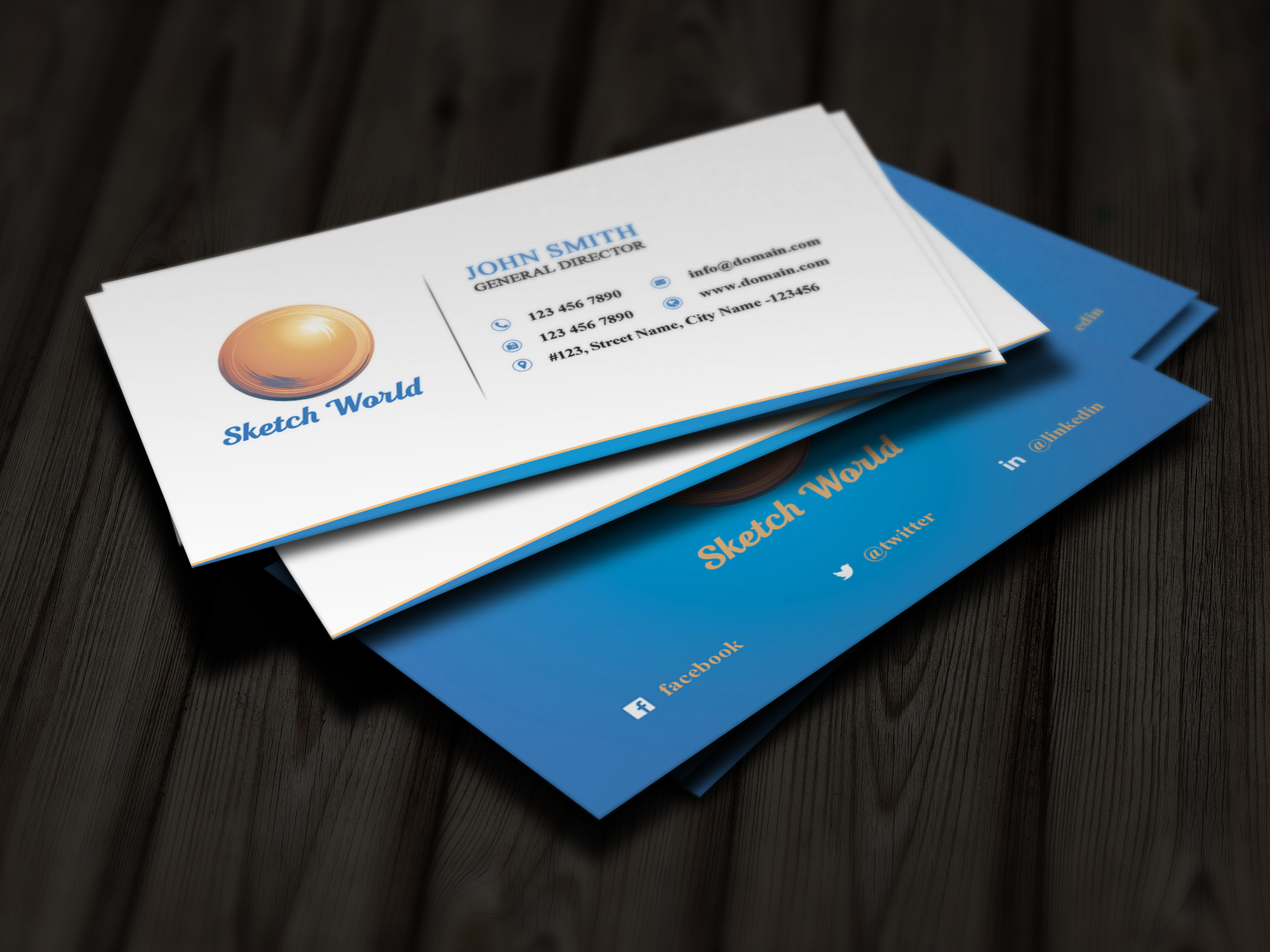 Creative Business Card Design example image 3
