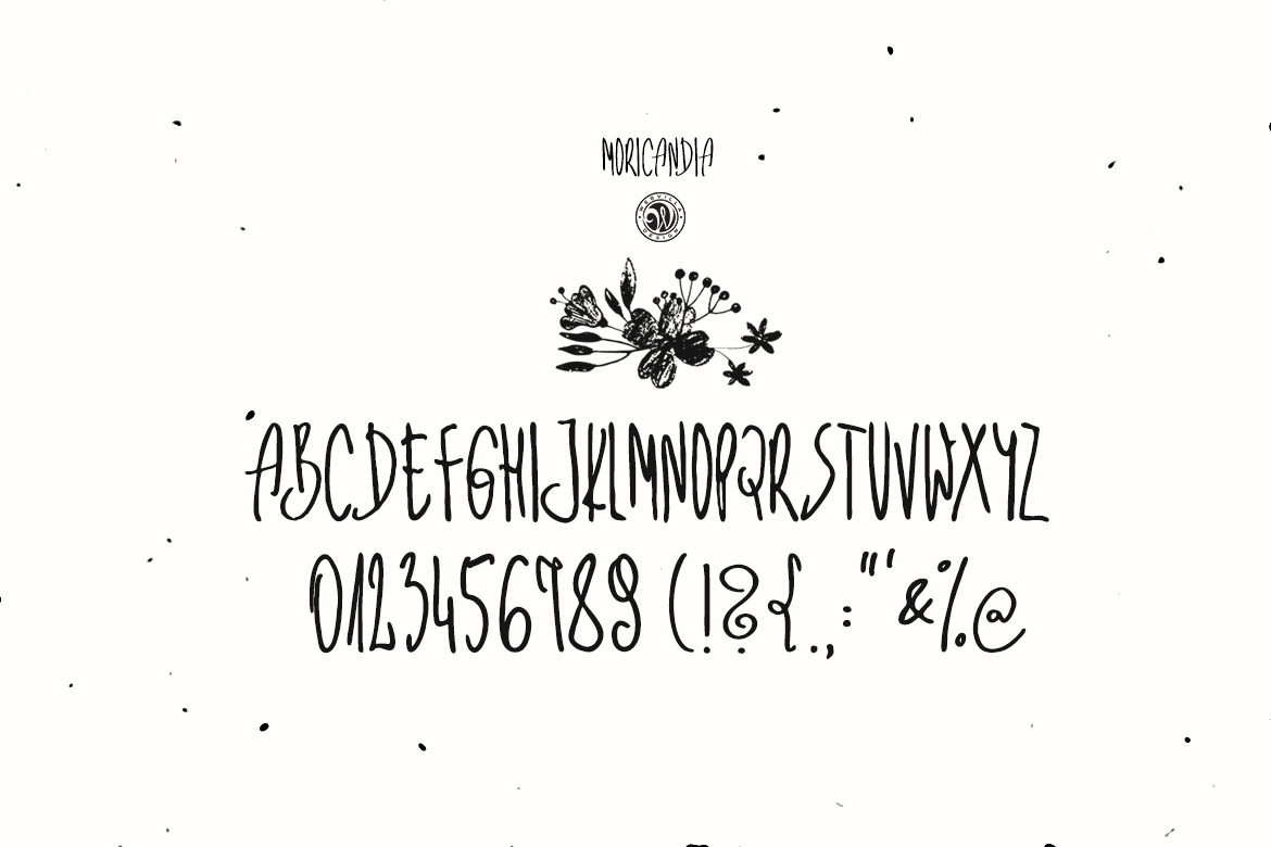Moricandia Font example image 6