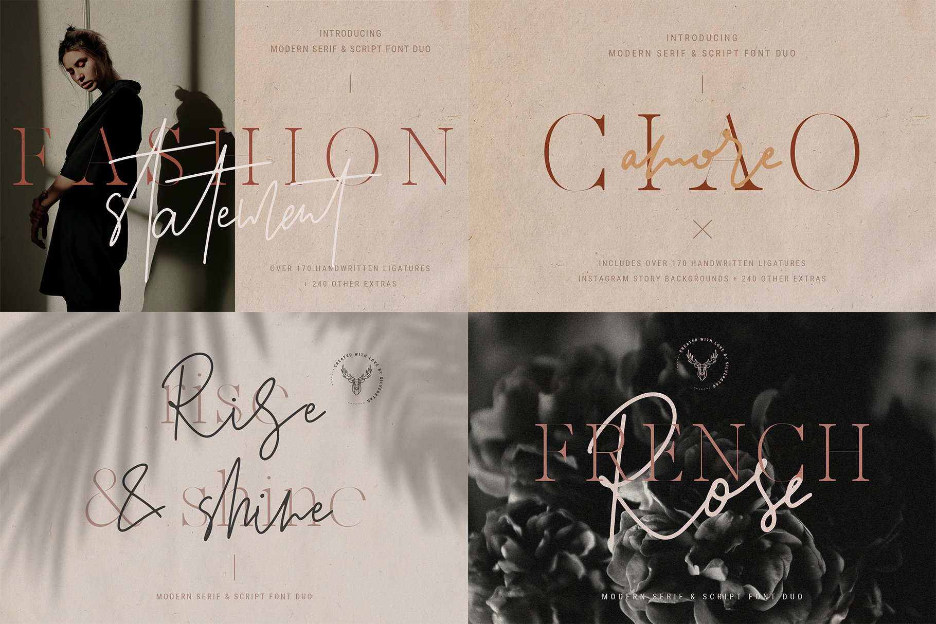 Font Bundle - Limited Time Edition With 80 Percent OFF example image 25
