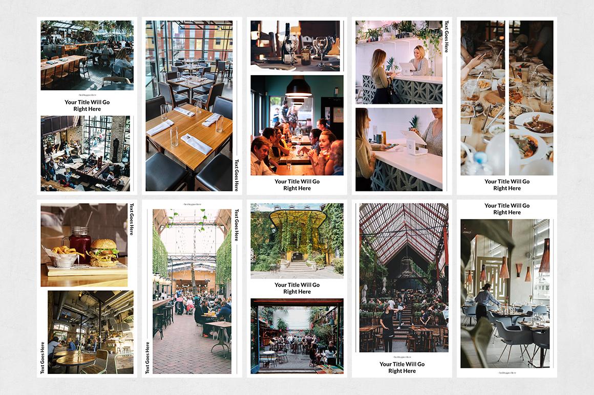Restaurant Animated Instagram Stories example image 8