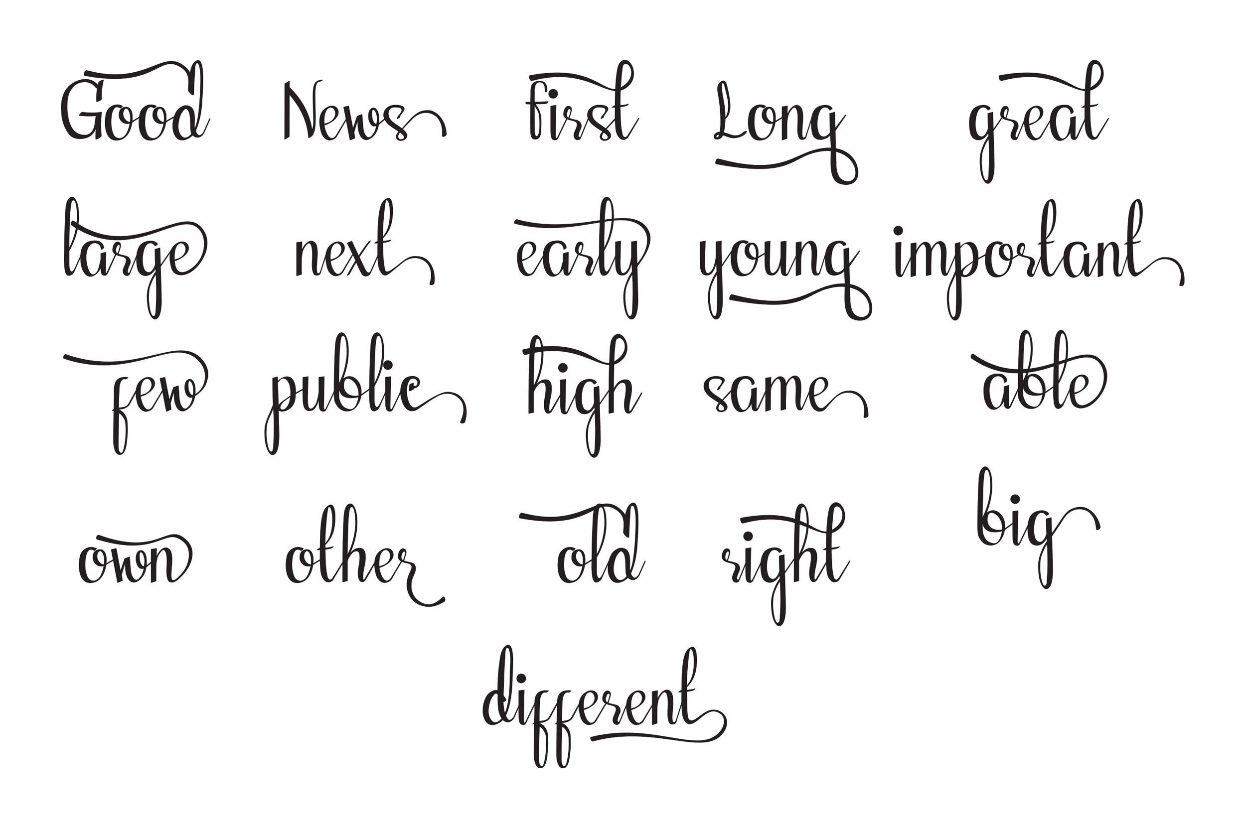 Fellant - Script Font example image 4