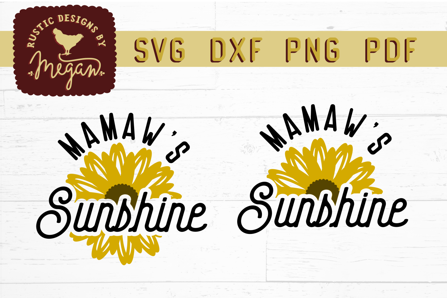 Sunflower SVG Bundle example image 11