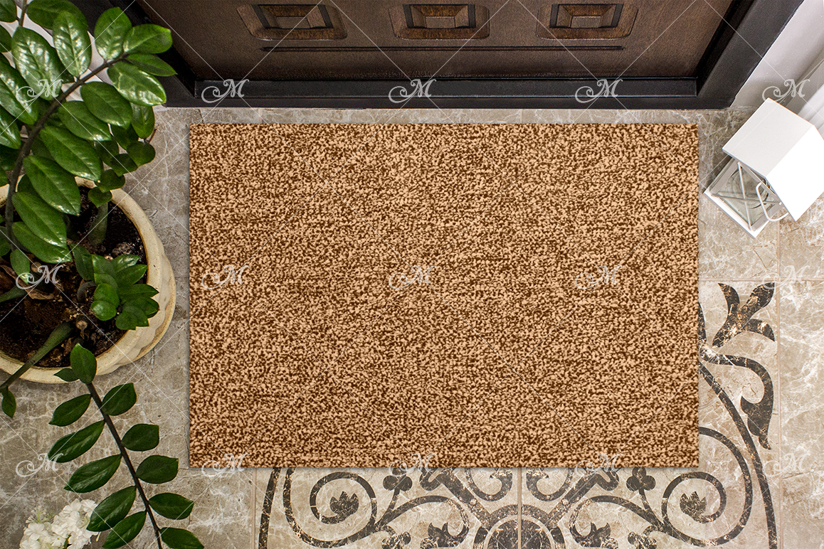 Doormat Mock-up. PSD+JPG example image 2