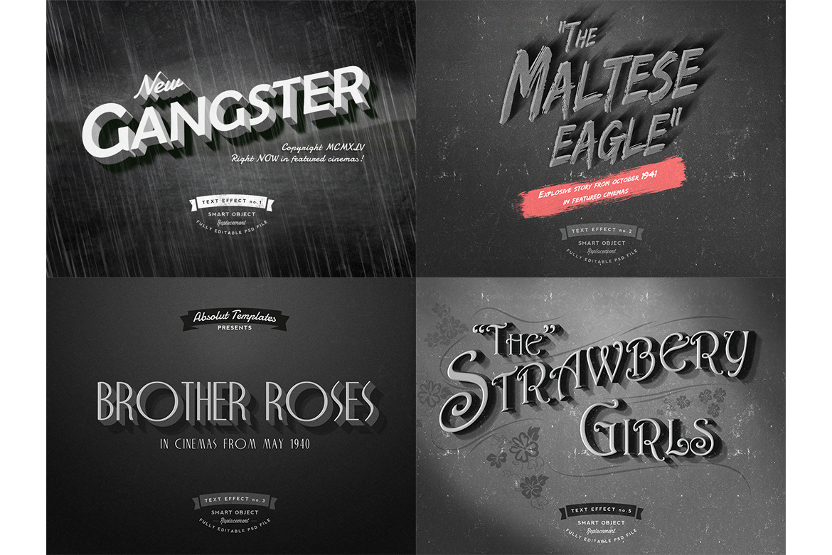Old Movie Titles example image 3