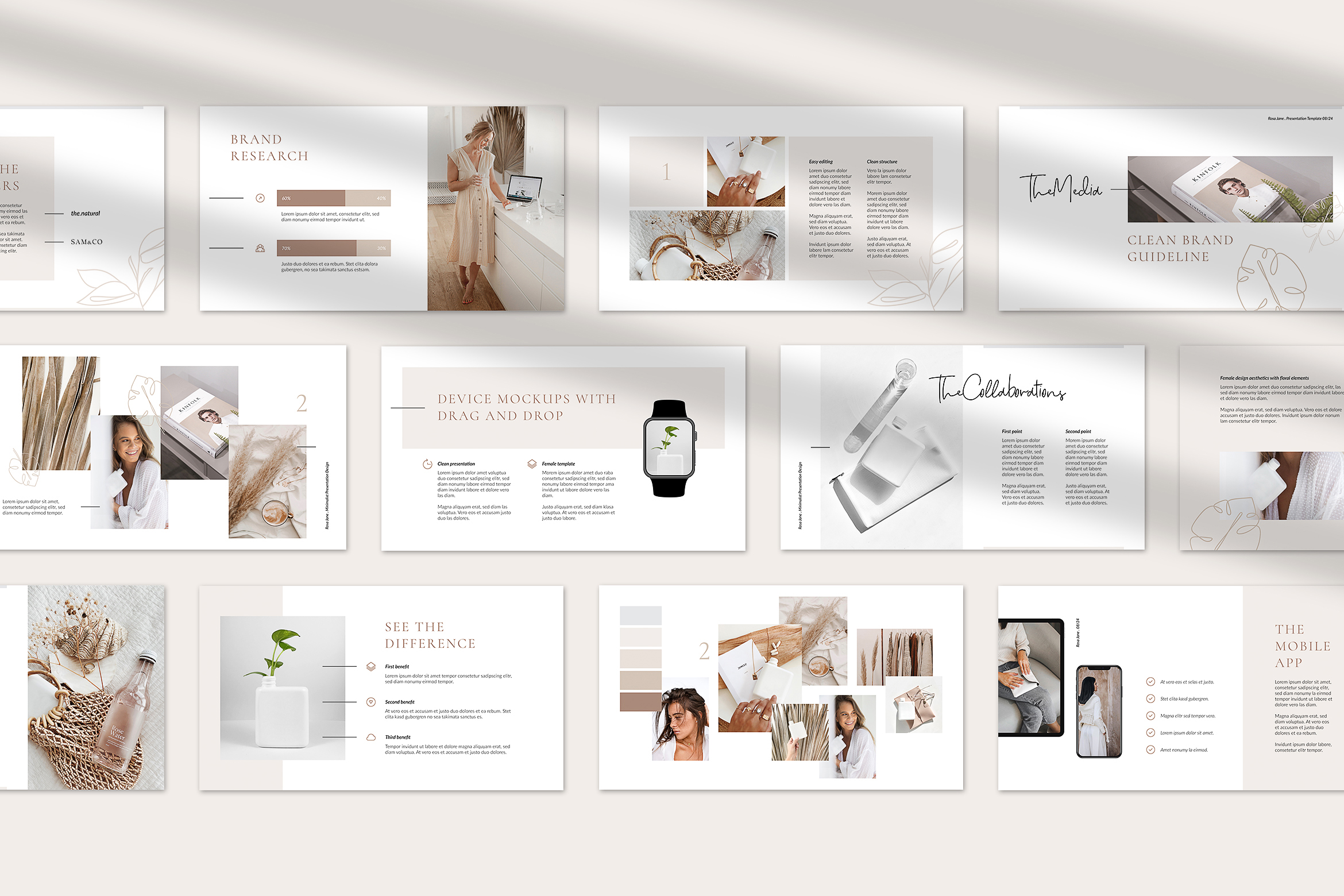 Rosa Jane Keynote Template example image 3