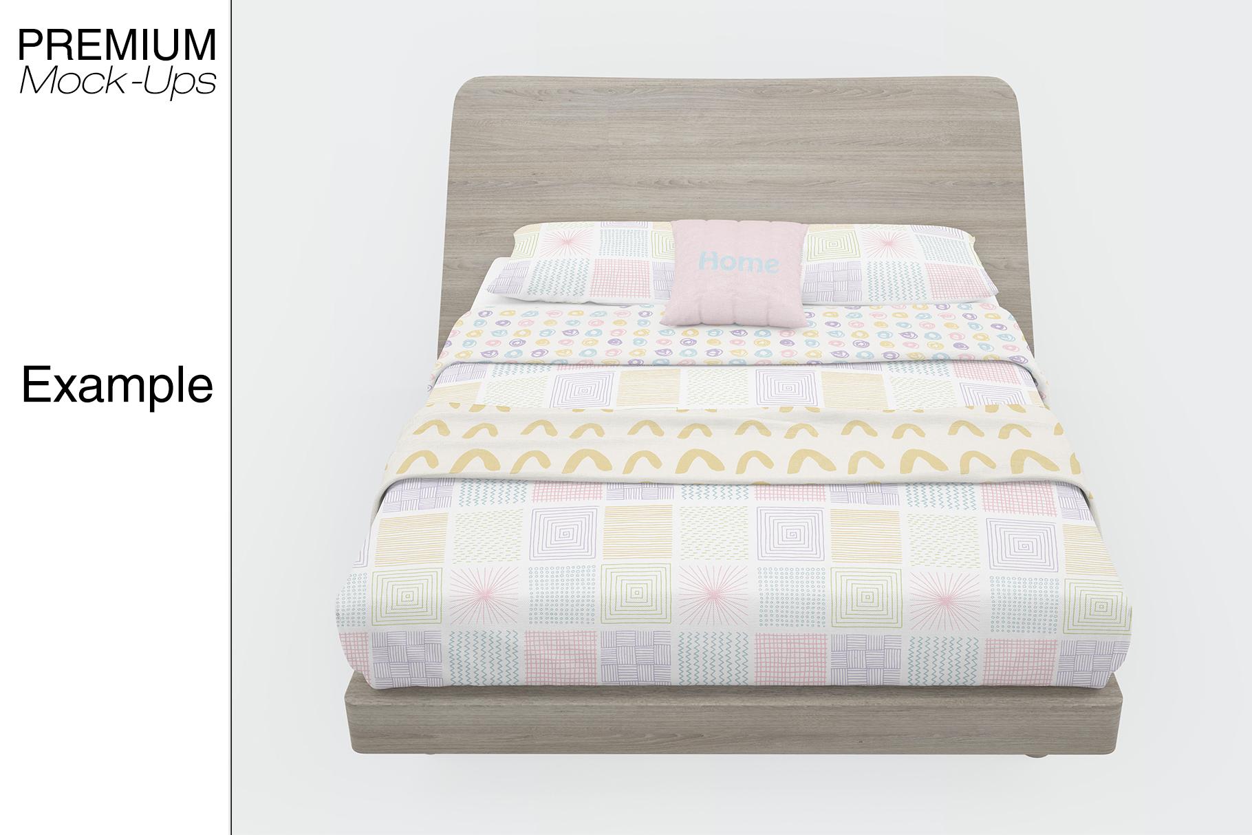 Bedding Mockup Set example image 4