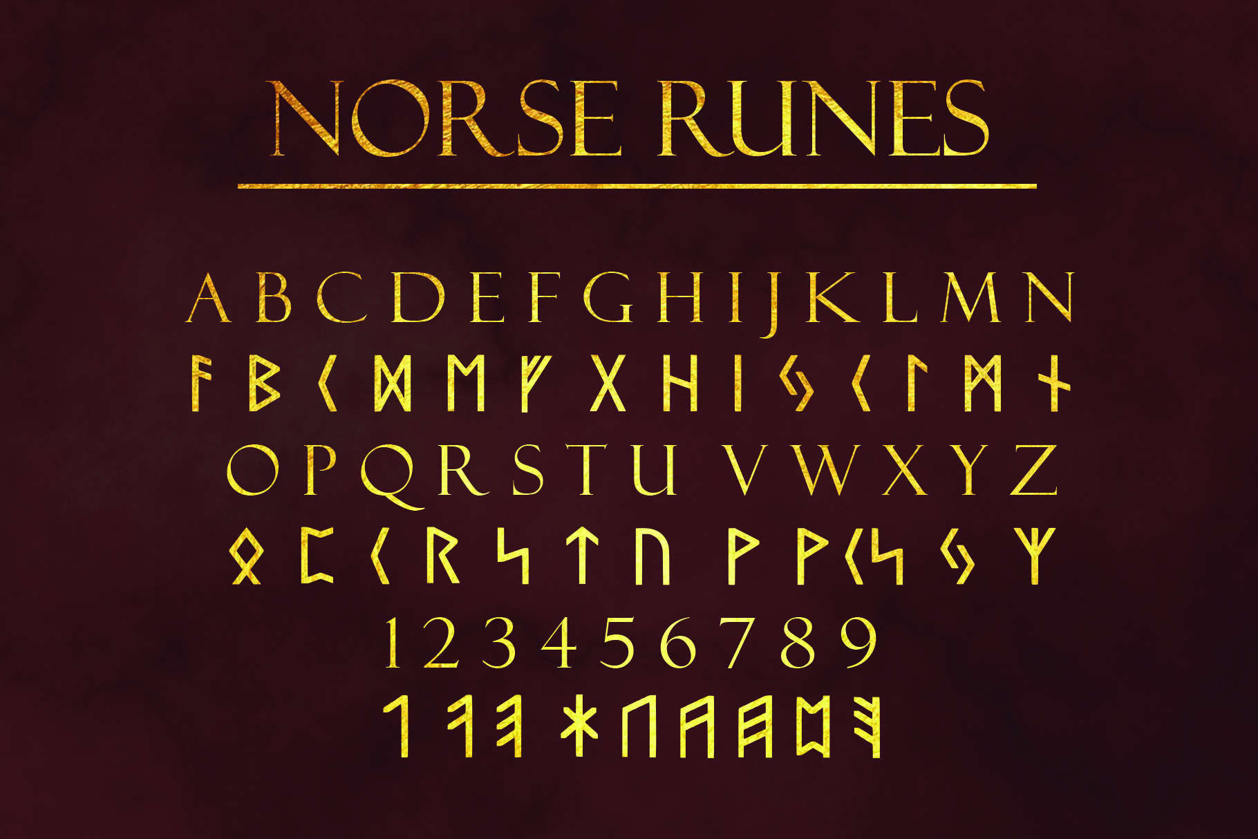 Ancient Languages Typeface Bundle example image 4