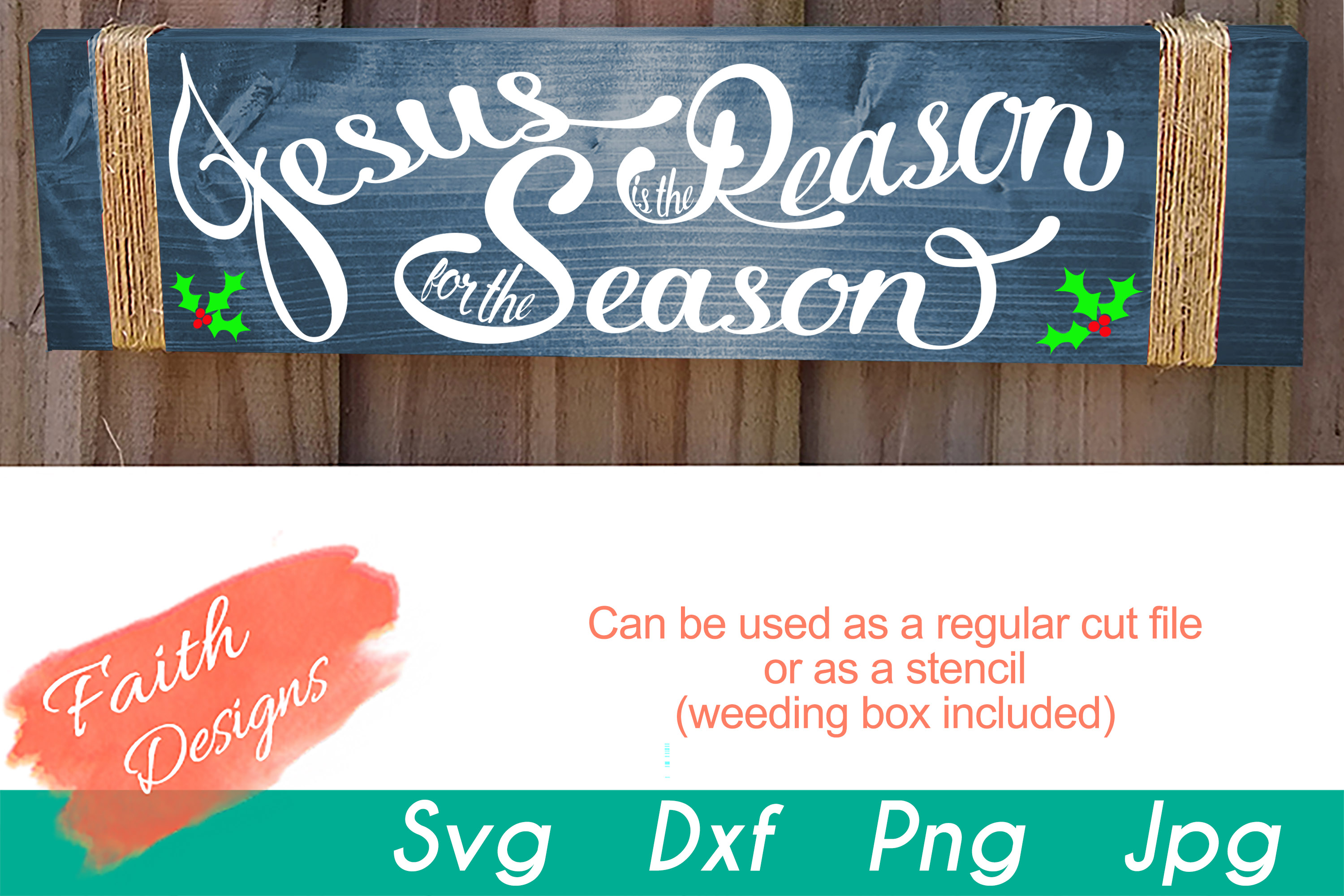 Christmas Porch Sign Bundle example image 6