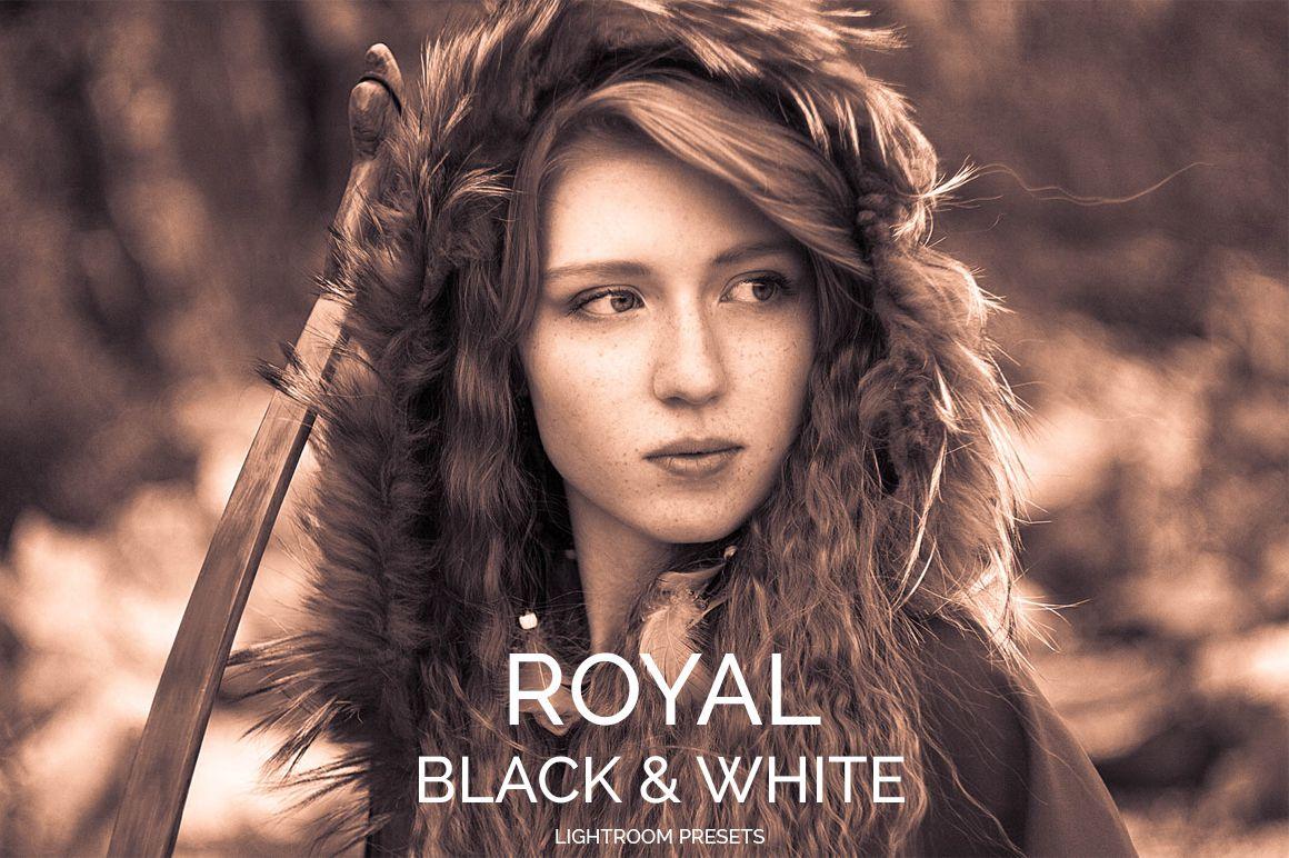 Royal Black&White Lightroom Presets example image 5