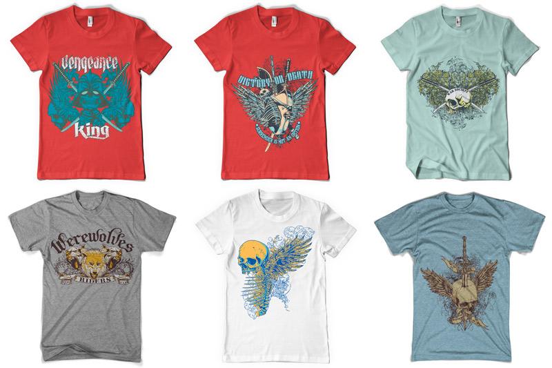 100 T-shirt Designs Vol 2 example image 17