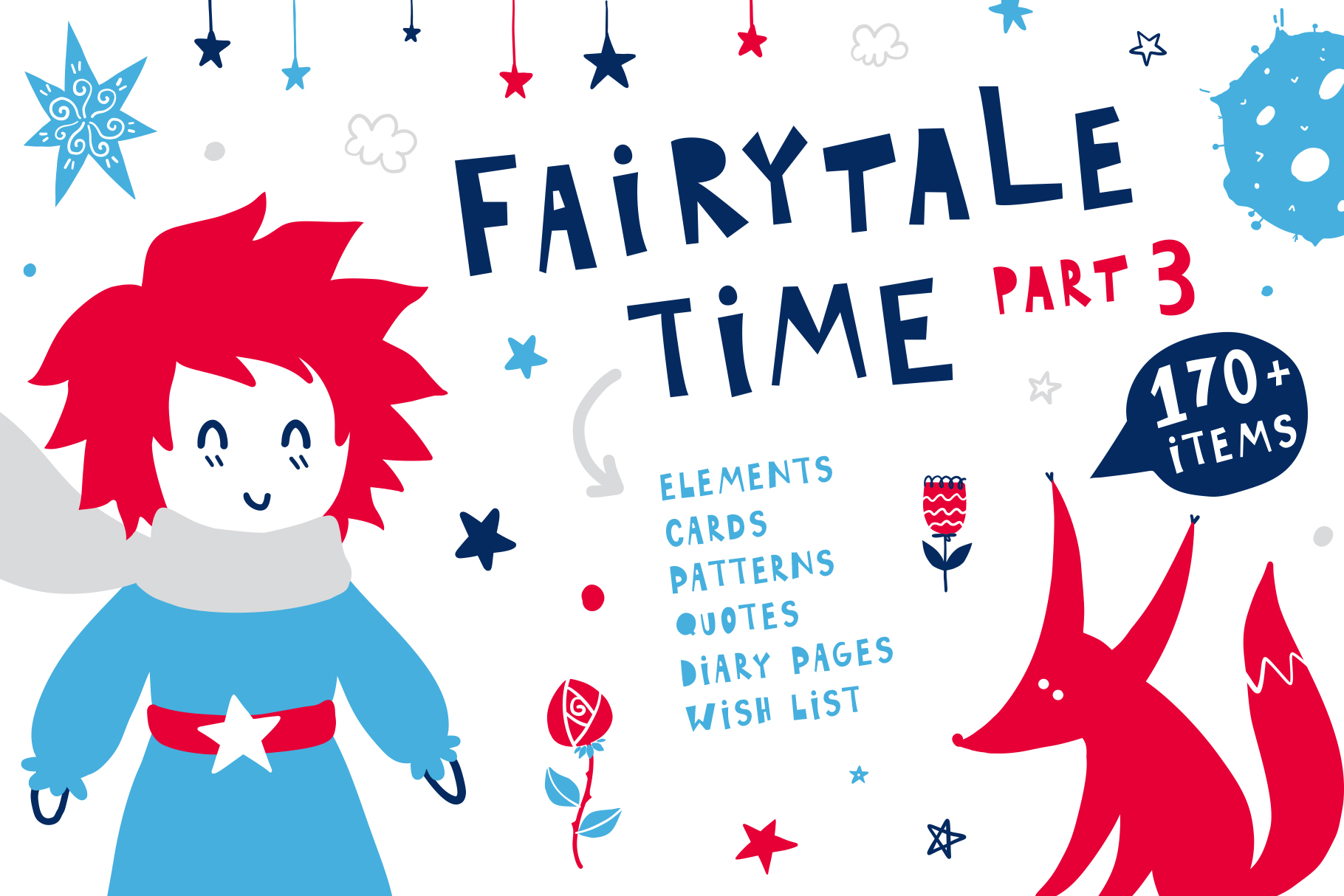Fairytale Time 3 - The Little Prince example image 1