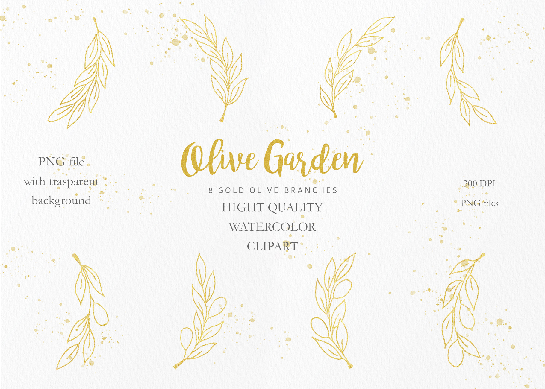 Olive Garden Clipart Collection example image 8