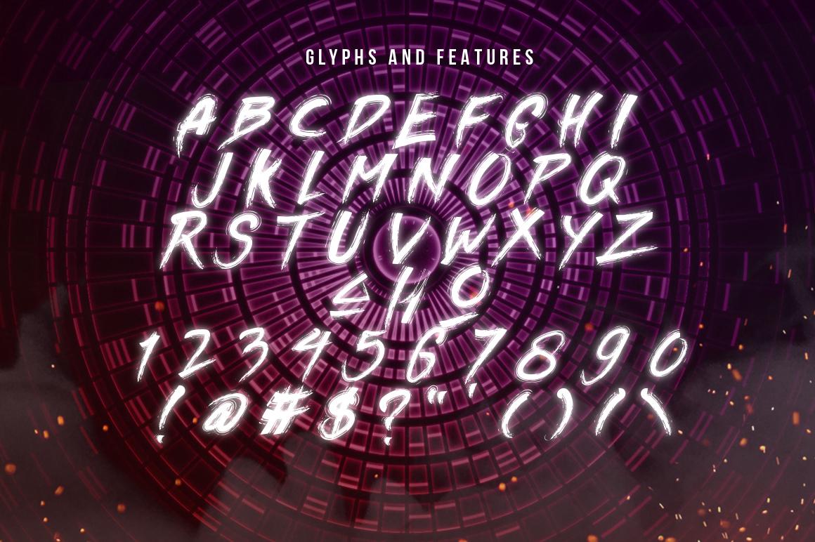 Divine Razier Font  Intro Sale!  example image 3