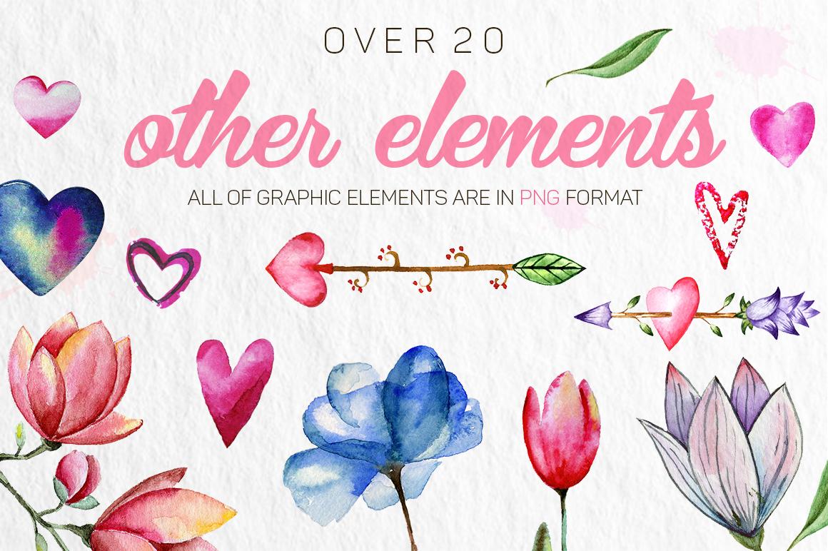 Romantic Flowers example image 5