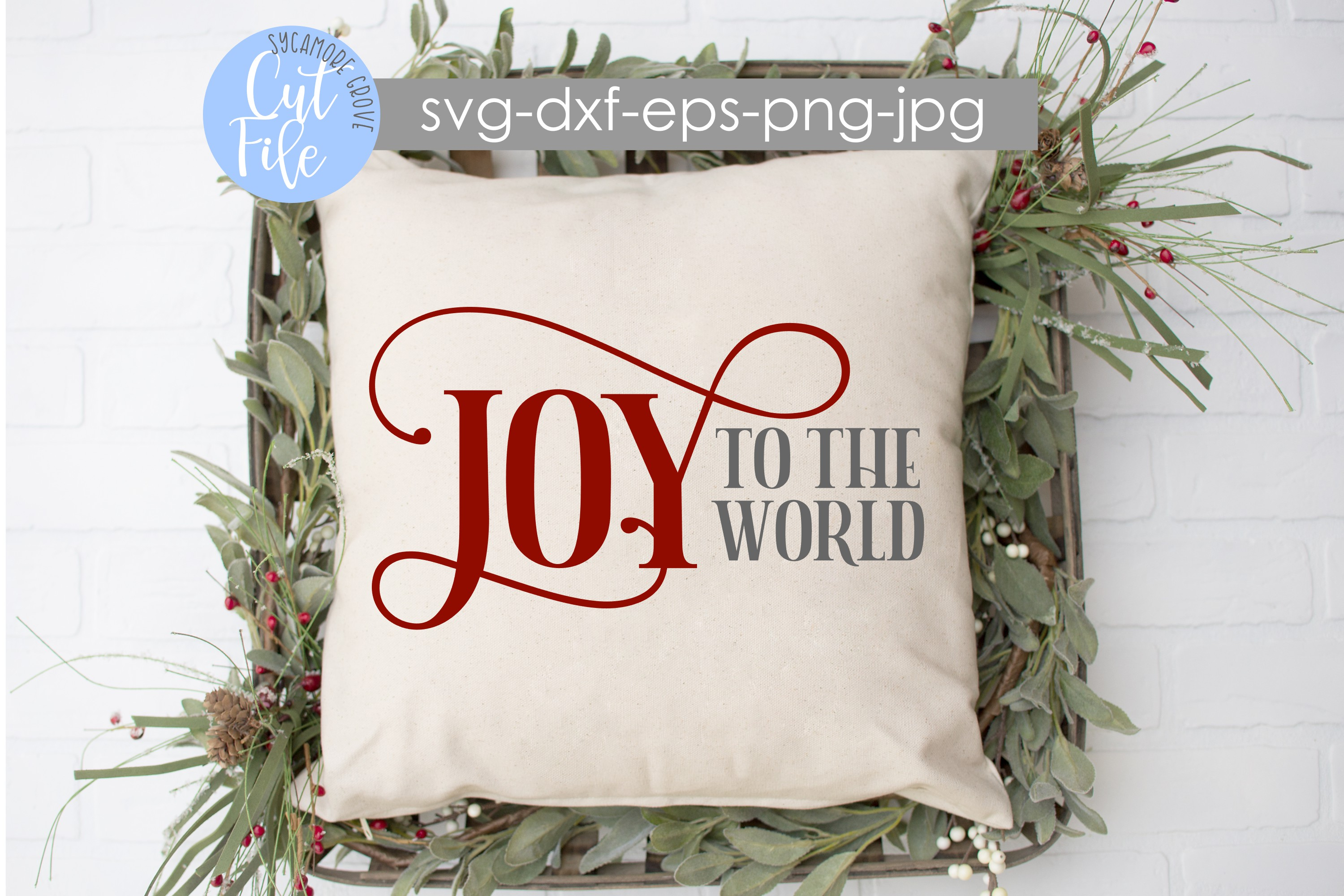 Joy To The World | Christmas SVG example image 5