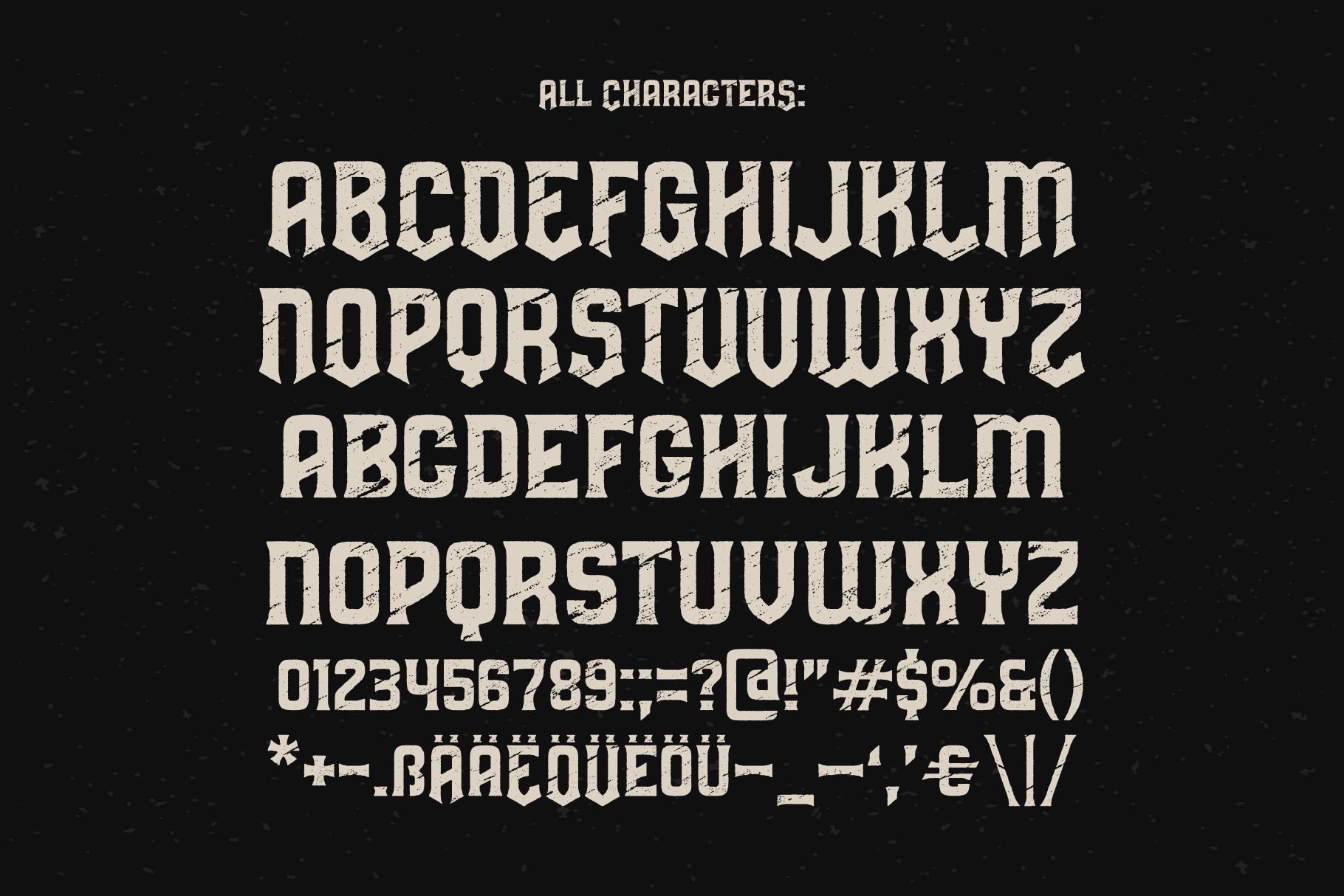 Predators Cuspid font example image 3