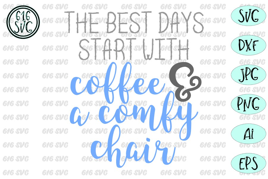 The best days start with coffee SVG, DXF, Ai, PNG example image 3