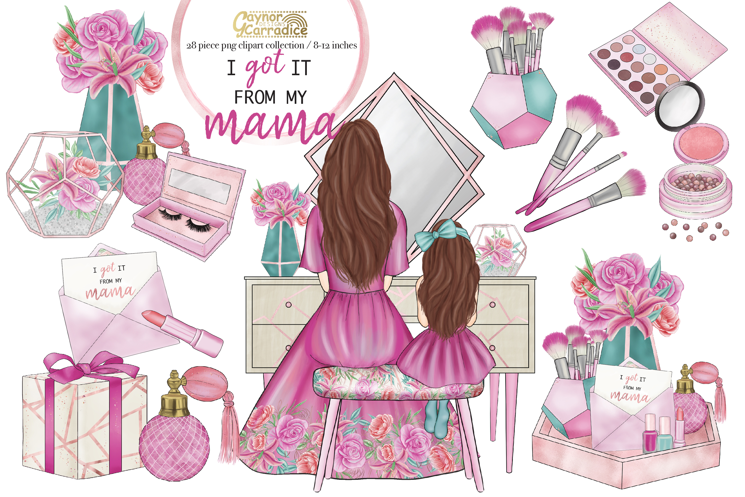 I got it from my mama - mothers day clipart collection example image 1
