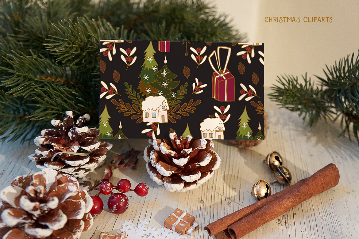 Christmas Cliparts example image 5