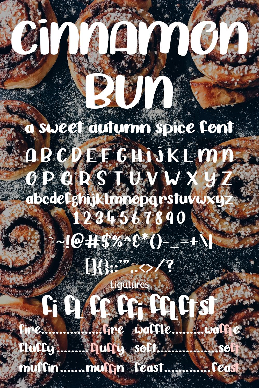 Cinnamon Bun - A sweet, handwritten font example image 3