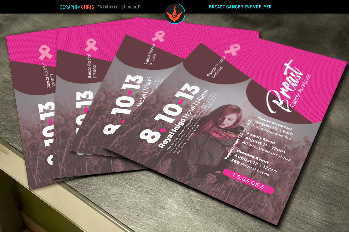 Breast Cancer Awareness Flyer Template example image 4