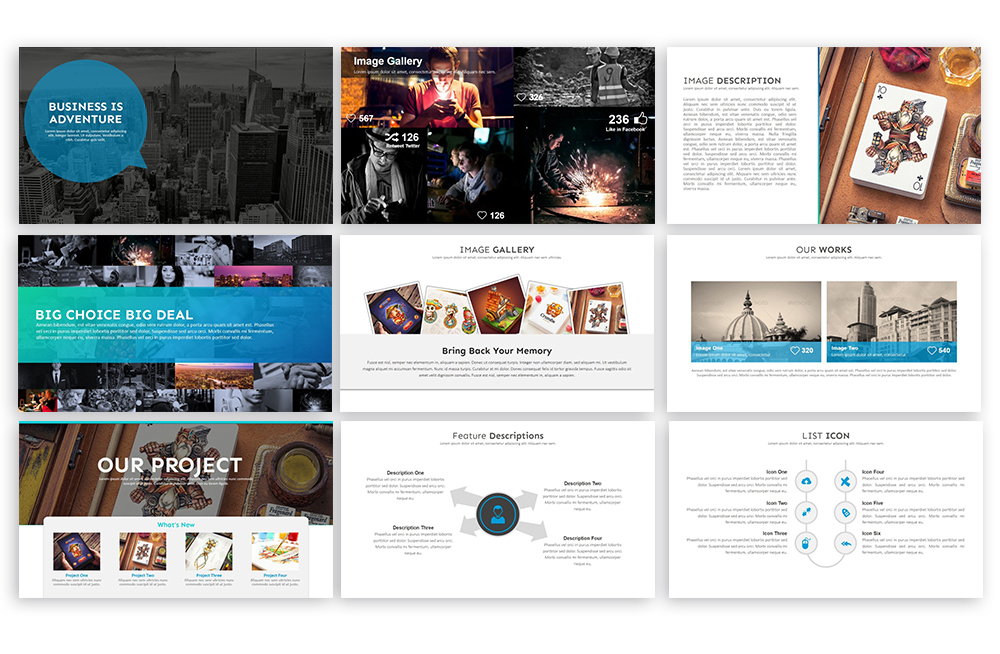 Clean PowerPoint Template example image 3
