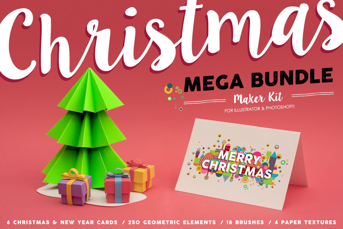 Christmas Mega Bundle Maker Kit example image 1