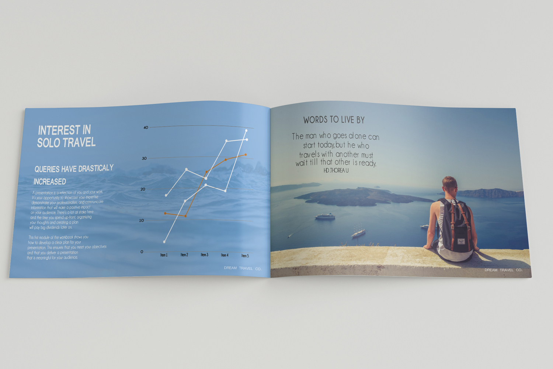Travel Agency Printable Catalogue - A5-26 PSD Templates example image 5