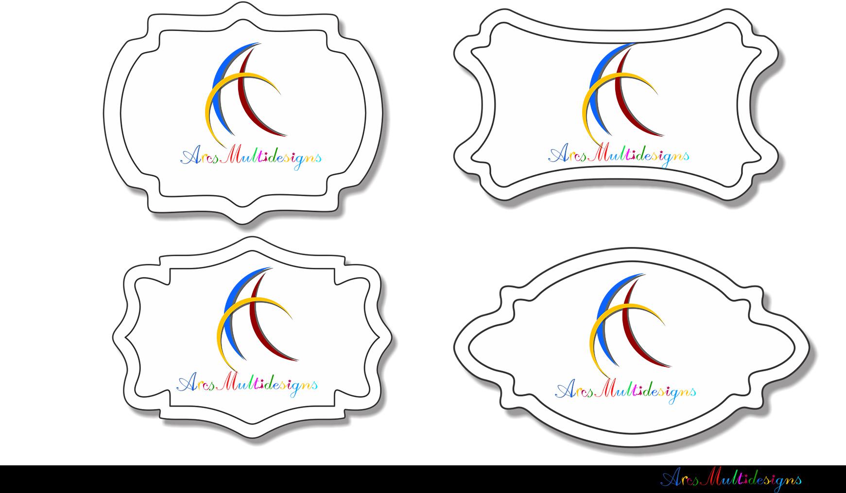 Label clipart bundle / digital label clipart bundle / frames bundle / high quality frames / digital frames clip art / label clipart example image 9